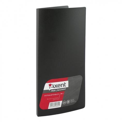 Визитница на 96 визиток  AXENT 2507-01-A черный