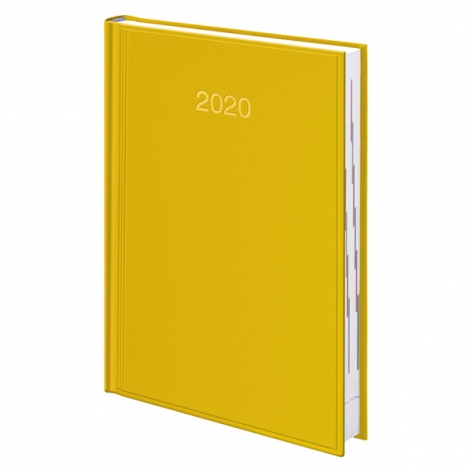 Ежедневник датированный BRUNNEN 2020 Стандарт Miradur, желтый, артикул 73-795 60 10 код 42979