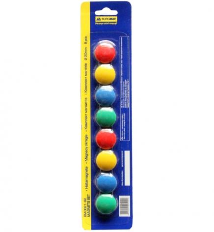 Магниты для досок 2 см (8 шт.) Buromax BM.0021-82
