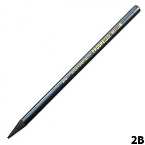 Карандаш графитный Progresso бездревесный Koh-i-noor 8911 2B