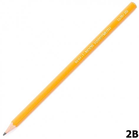 Карандаш графитный, мягкий, Koh-I-Noor 1570.2B