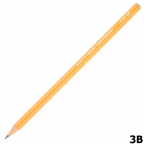 Карандаш графитный, мягкий, Koh-I-Noor 1570.3B