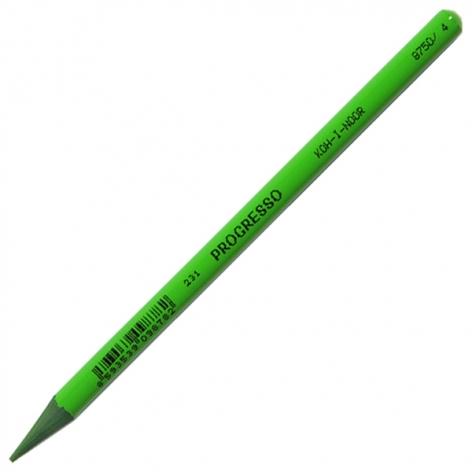Художественные бездревесные карандаши Progresso Koh-i-noor 8750/4 meadow green (луговой зелёный)