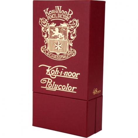 Карандаши художественные POLYCOLOR RETRO 48 цветов в картонной упаковке, Koh-i-noor 3826048020TK