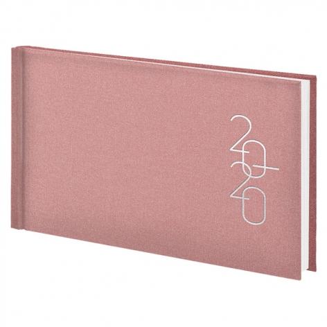 Еженедельник карманный датированный BRUNNEN 2020 Glam пудровый, артикул 73-755 30 45 код 43216