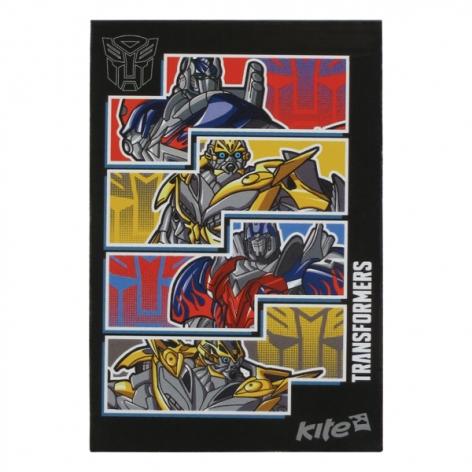 Блокнот на 48 листов, формат 70 х 105 мм клеевой Transformers Kite TF15-224K