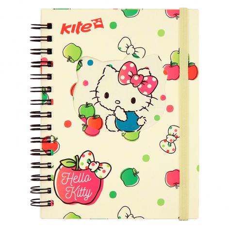 Блокнот А6 формата на 80 листов  Hello Kitty Kite HK17-229