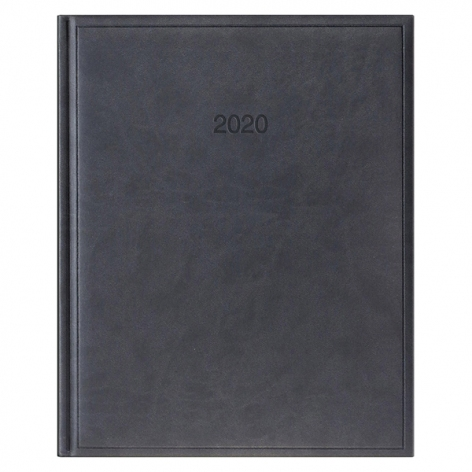 Еженедельник датированный BRUNNEN 2020 Бюро Torino, черный, артикул 73-761 38 90 код 43038