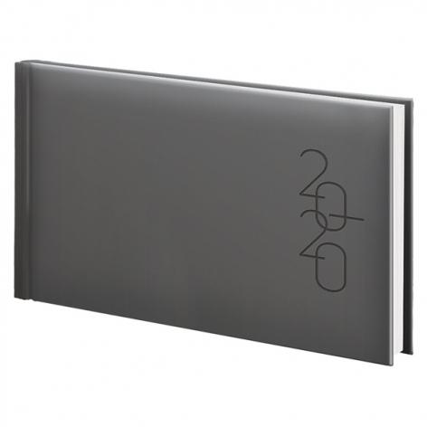 Еженедельник карманный датированный BRUNNEN 2020 Графо серебро 73-755 68 92