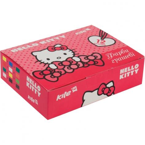 Гуашь 12 цветов по 20 мл KITE Hello Kitty HK17-063