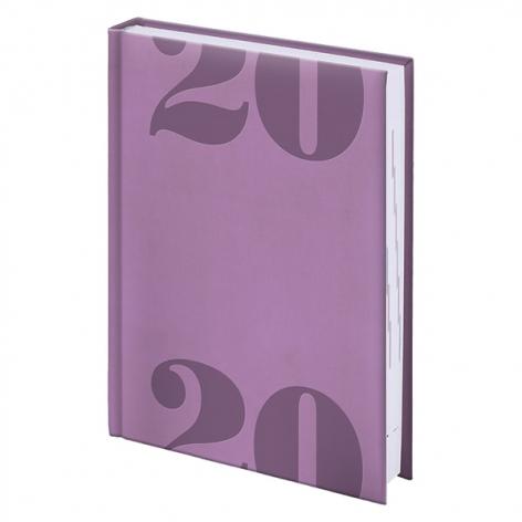 Ежедневник карманный датированный BRUNNEN 2020 Torino Trend лавандовый, артикул 73-732 38 66 код 43197