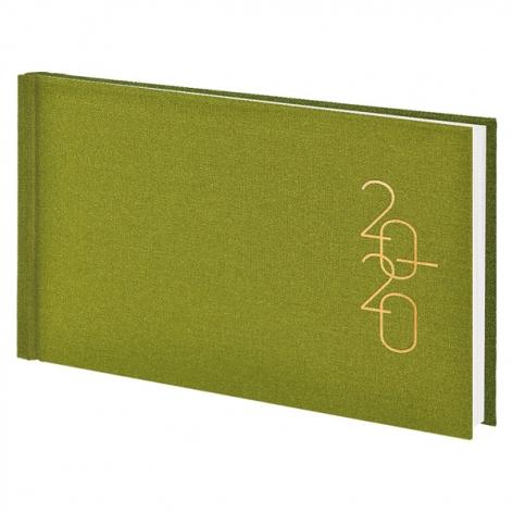 Еженедельник карманный датированный BRUNNEN 2020 Glam светло-зеленый, артикул 73-755 30 54 код 43217