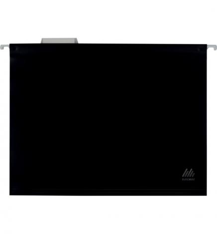 Файл пластиковый А4 (320 мм х 240 мм) подвесной с индексом для картотеки Buromax BM.3360-01 черный