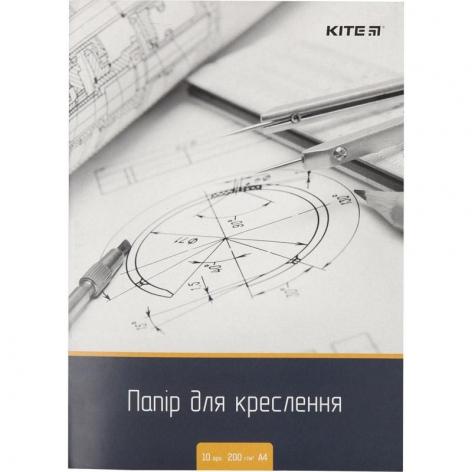 Папка для черчения А4 плотность 200 г/м2 (10 л.) KITE k18-269