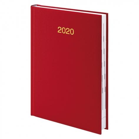 Ежедневник датированный BRUNNEN 2020 Стандарт Miradur, красный, артикул 73-795 60 20 код 42983