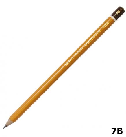 Карандаш графитный, мягкий 7B, Koh-I-Noor 1500.7B