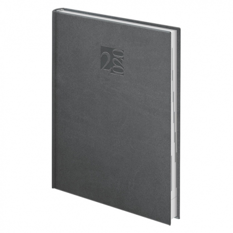 Ежедневник датированный BRUNNEN 2020 Стандарт Intention графит, артикул 73-795 40 90 код 43005