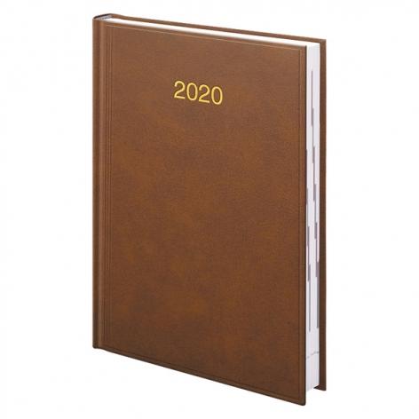 Ежедневник датированный BRUNNEN 2020 Стандарт Miradur, коричневый 73-795 60 70