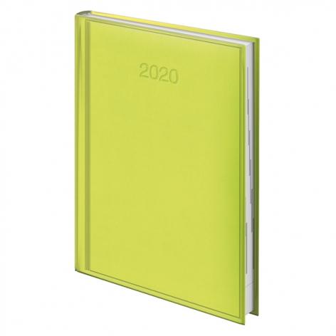 Ежедневник датированный BRUNNEN 2020 Стандарт Torino, салатовый 73-795 38 53
