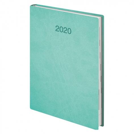 Ежедневник датированный BRUNNEN 2020 Стандарт Flex светло-бирюзовый 73-795 70 44