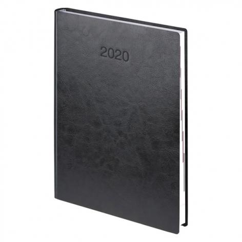 Ежедневник датированный BRUNNEN 2020 Стандарт Flex, черный, артикул 73-795 70 90 код 43062