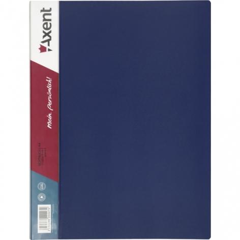 Дисплей-книга на 30 файлов, AXENT 1030-02-А синий