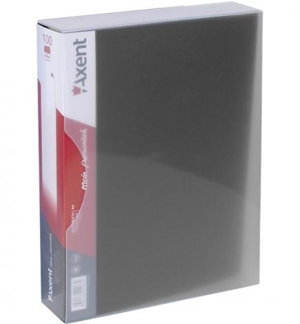 Дисплей-книга на 100 файлов, AXENT 1100-01-А черный