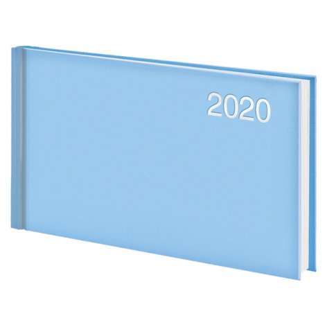Еженедельник карманный датированный BRUNNEN 2020 Miradur Trend голубой, артикул 73-755 64 33 код 43039