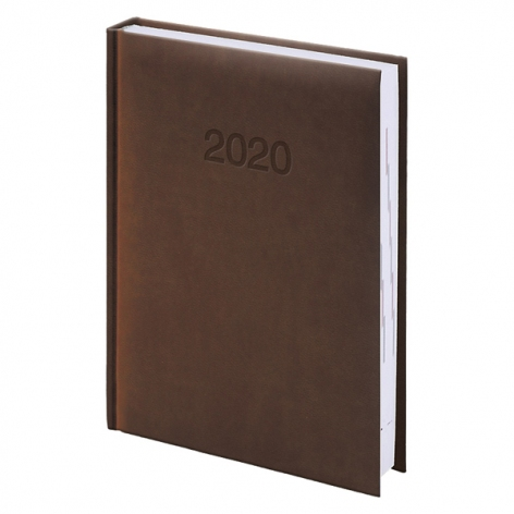 Ежедневник карманный датированный BRUNNEN 2020 Torino, коричневый, артикул 73-736 38 70 код 43022