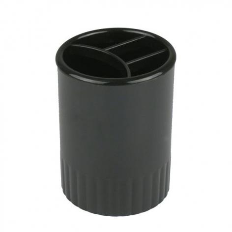 Стакан-подставка пластиковый на 4 отделения 90 x 70 мм Delta by Axent d4009-01