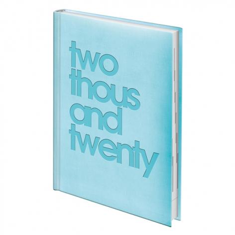 Ежедневник датированный BRUNNEN 2020 Стандарт Torino Trend голубой, артикул 73-795 38 133 код 43169