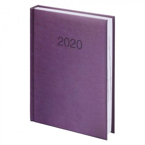 Ежедневник карманный датированный BRUNNEN 2020 Torino сиреневый, артикул 73-736 38 66 код 43194