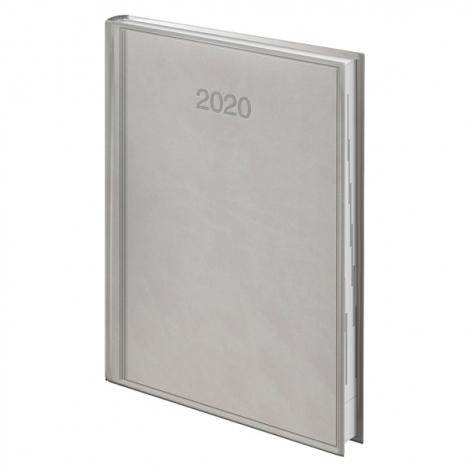 Ежедневник датированный BRUNNEN 2020 Стандарт Torino, серый 73-795 38 80