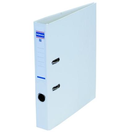 Папка-регистратор Master А4 5 см, односторонний, Donau 3950001M-09 белый