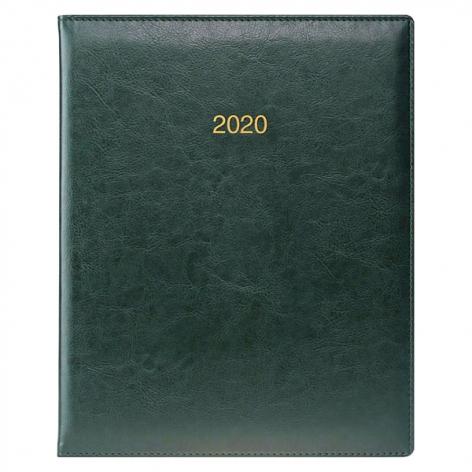 Еженедельник датированный BRUNNEN 2020 Бюро Soft, зеленый, артикул 73-761 36 50 код 43032