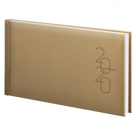 Еженедельник карманный датированный BRUNNEN 2020 Графо золотой, артикул 73-755 68 91 код 43235