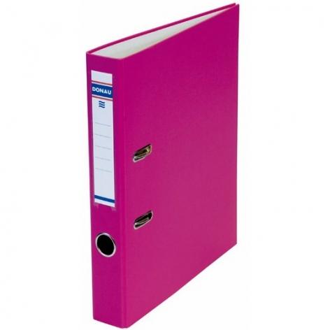 Папка-регистратор Master А4 5 см, односторонний, Donau 3950001M-30 розовый