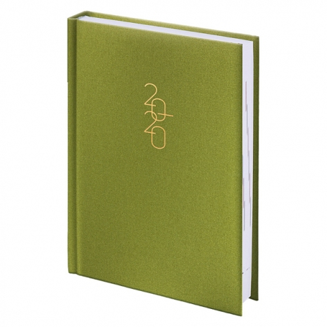Ежедневник карманный датированный BRUNNEN 2020 Glam светло-зеленый 73-736 30 54