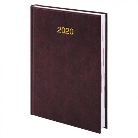 Ежедневник датированный BRUNNEN 2020 Стандарт Miradur, бордовый 73-795 60 29