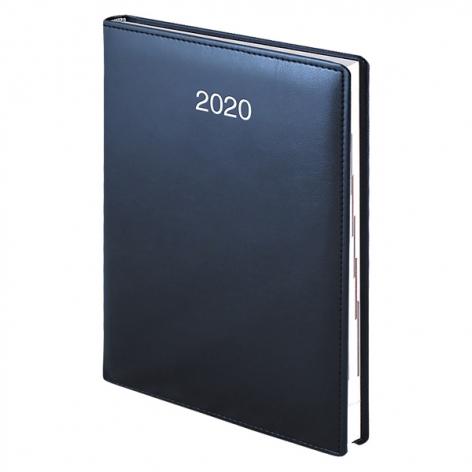 Ежедневник датированный BRUNNEN 2020 Стандарт Soft, синий, артикул 73-795 36 30 код 42995
