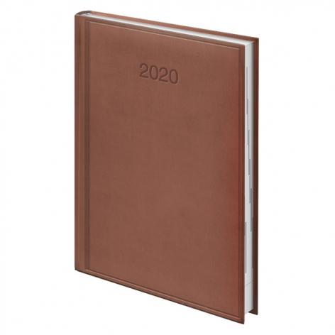 Ежедневник датированный BRUNNEN 2020 Стандарт Torino, бежевій73-795 38 45