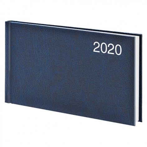 Еженедельник карманный датированный BRUNNEN 2020 Miradur, синий, артикул 73-755 60 30 код 43056
