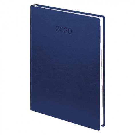 Ежедневник датированный BRUNNEN 2020 Стандарт Flex, ярко-синий 73-795 70 32