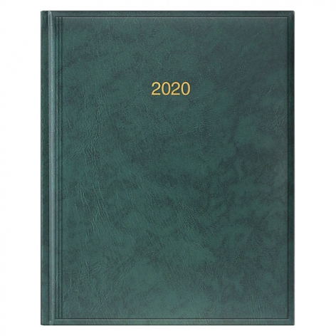 Еженедельник датированный BRUNNEN 2020 Бюро Miradur, зеленый, артикул 73-761 60 50 код 43027