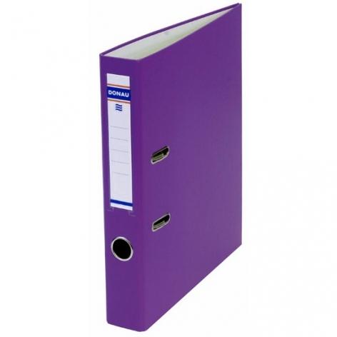 Папка-регистратор Master А4 5 см, односторонний, Donau 3950001M-23 фиолетовый