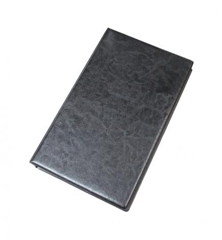 Визитница на кольцах 200 визиток (160 мм x 268 мм) Buromax BM.3561-01 черный