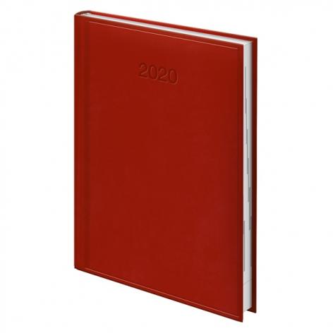 Ежедневник датированный BRUNNEN 2020 Стандарт Torino, ярко-красный, артикул 73-795 38 24 код 43173
