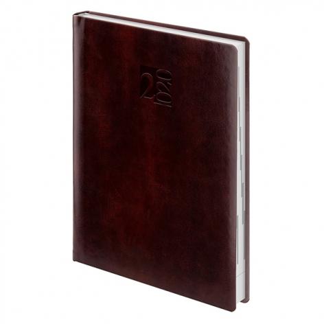 Ежедневник датированный BRUNNEN 2020 Стандарт Patrician коричневый 73-795 39 70