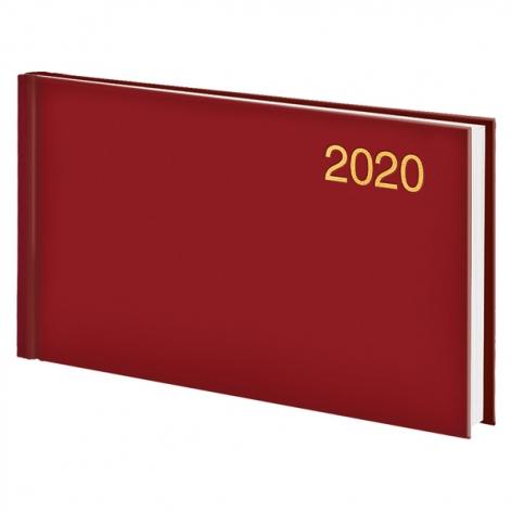 Еженедельник карманный датированный BRUNNEN 2020 Miradur Trend красный, артикул 73-755 64 20 код 43043