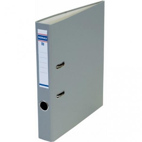 Папка-регистратор Master А4 5 см, односторонний, Donau 3950001M-13 серый